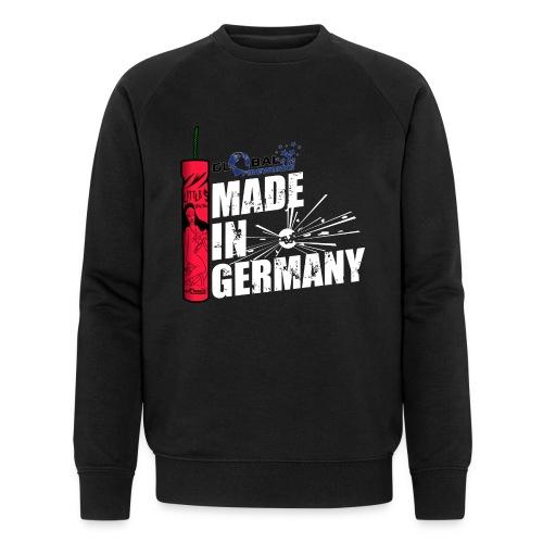 Global Fireworks Knaller - Männer Bio-Sweatshirt