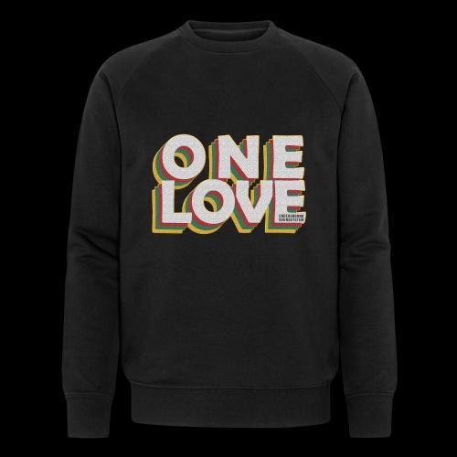 ONE LOVE - Männer Bio-Sweatshirt von Stanley & Stella