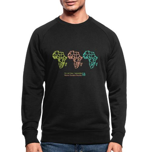Ramer-Douglas-Peucker Algorithm -Africa - Men's Organic Sweatshirt