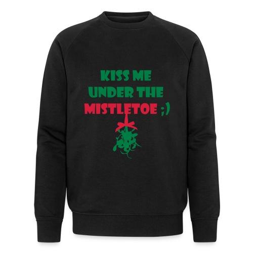 mistletoe - Männer Bio-Sweatshirt von Stanley & Stella