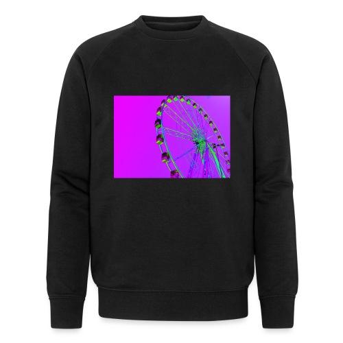 Trippy Ferris Wheel - Mannen bio sweatshirt