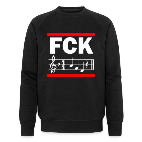 fck - Männer Bio-Sweatshirt