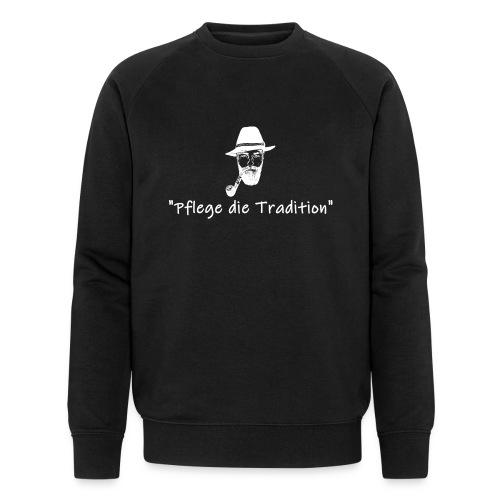 Bergbauer das Original, Pflege die Tradition - Männer Bio-Sweatshirt von Stanley & Stella