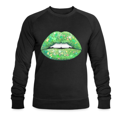 LIME SHIMMER - Men's Organic Sweatshirt by Stanley & Stella