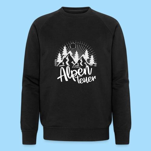 Alpenteuer - Männer Bio-Sweatshirt von Stanley & Stella