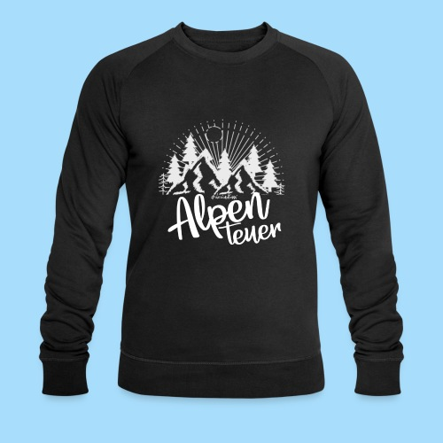 Alpenteuer - Männer Bio-Sweatshirt