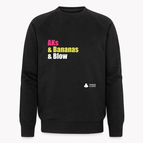AKs & Bananas & Blow - Männer Bio-Sweatshirt von Stanley & Stella