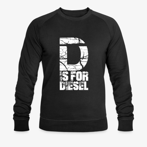 D is for Diesel I Dieselholics - Männer Bio-Sweatshirt von Stanley & Stella