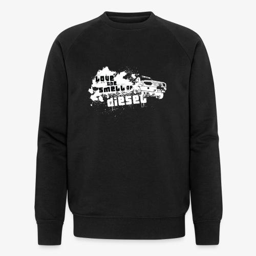 Love the smell of Diesel I Dieselholics - Männer Bio-Sweatshirt von Stanley & Stella