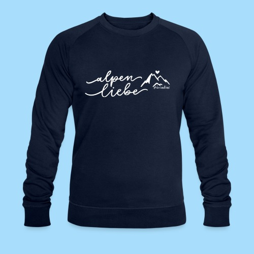 Alpenliebe - Männer Bio-Sweatshirt