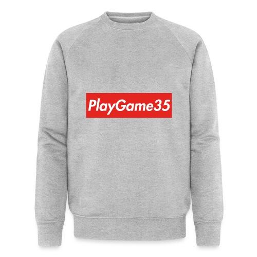 PlayGame35 - Felpa ecologica da uomo