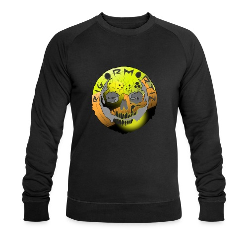 Rigormortiz Metallic Yellow Orange Design - Men's Organic Sweatshirt