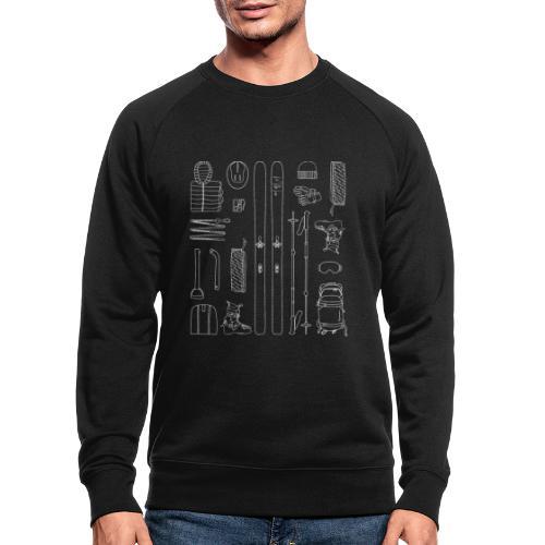 Ski touring - Men's Organic Sweatshirt