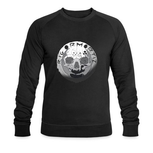 Rigormortiz Black and White Design - Men's Organic Sweatshirt