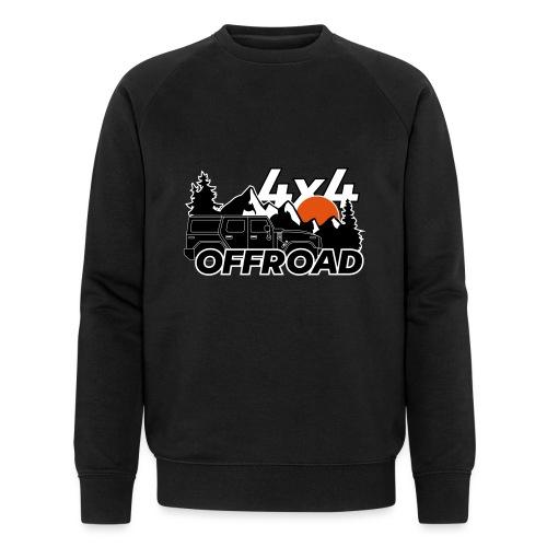 Offroad 4x4 Jeep Logo - Männer Bio-Sweatshirt