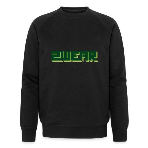 2wear Green Box Logo - Økologisk Stanley & Stella sweatshirt til herrer