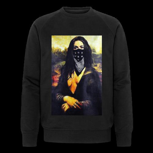 Mona Lisa Gangsta - Ekologiczna bluza męska Stanley & Stella