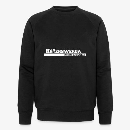 Logo Hoierswerda transparent - Männer Bio-Sweatshirt