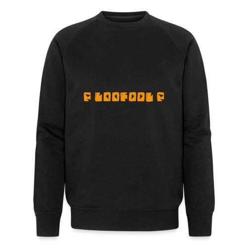 P loofool P - Orange logo - Økologisk sweatshirt for menn