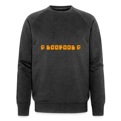 P loofool P - Orange logo - Økologisk sweatshirt for menn fra Stanley & Stella