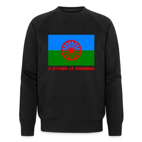 o styago le romengo flag of romani people t-shirt - Felpa ecologica da uomo di Stanley & Stella