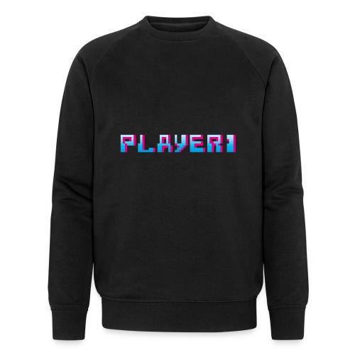Arcade Game - Player 1 - Men's Organic Sweatshirt