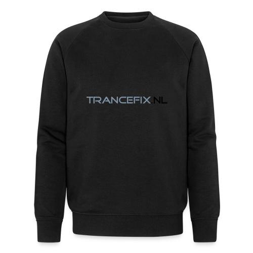 trancefix text - Men's Organic Sweatshirt by Stanley & Stella