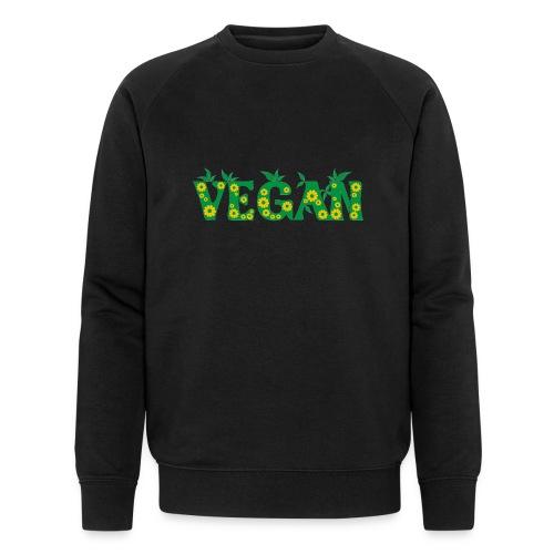 Vegan - Blumen - Männer Bio-Sweatshirt von Stanley & Stella