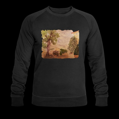 Hinterhof - Männer Bio-Sweatshirt