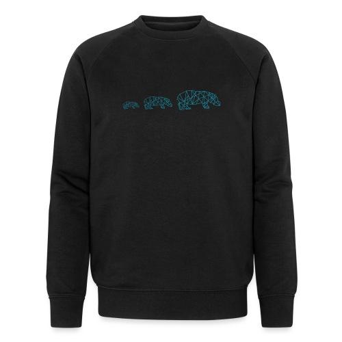 HiPPO x3 - Mannen bio sweatshirt van Stanley & Stella