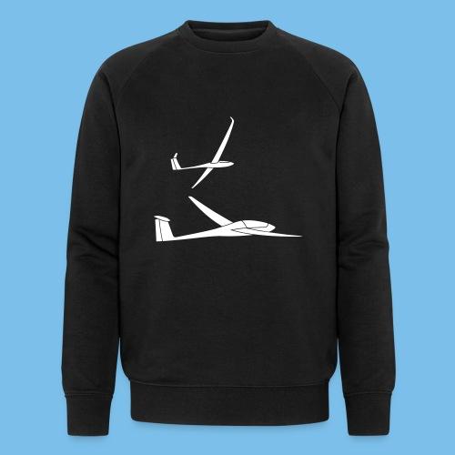 Segelflieger Geschenk Segelflugzeug Formation - Männer Bio-Sweatshirt von Stanley & Stella