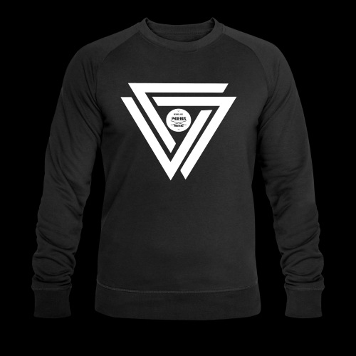 08 logo complet withe - Sweat-shirt bio