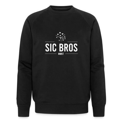 sicbros1 mwkt - Men's Organic Sweatshirt by Stanley & Stella