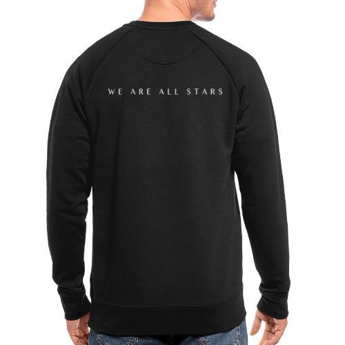 Galaxy Music Lab - We are all stars - Økologisk sweatshirt til herrer