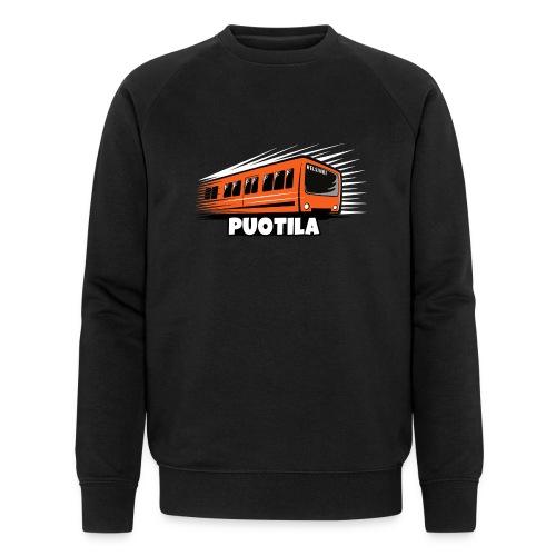 HELSINKI PUOTILA METRO T-Shirts, Hoodies, Gifts - Miesten luomucollegepaita