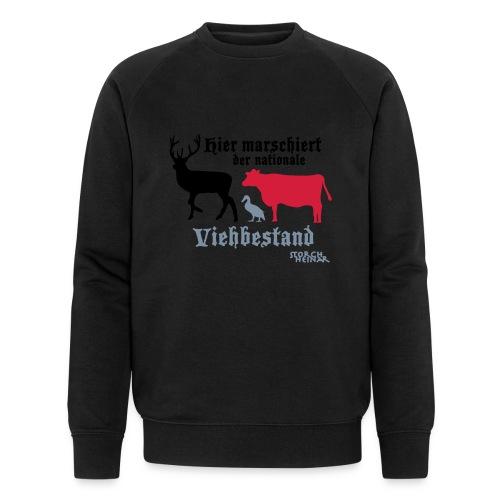 viehbestandnational2 - Männer Bio-Sweatshirt von Stanley & Stella