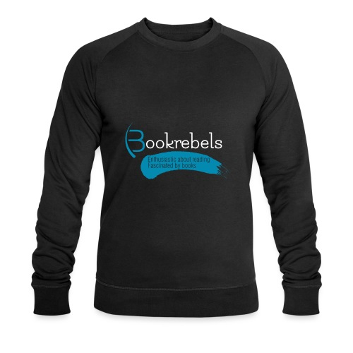 Bookrebels Enthusiastic - White - Men's Organic Sweatshirt by Stanley & Stella