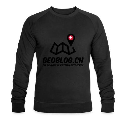 Logo+Schriftzug-hoch - Männer Bio-Sweatshirt von Stanley & Stella