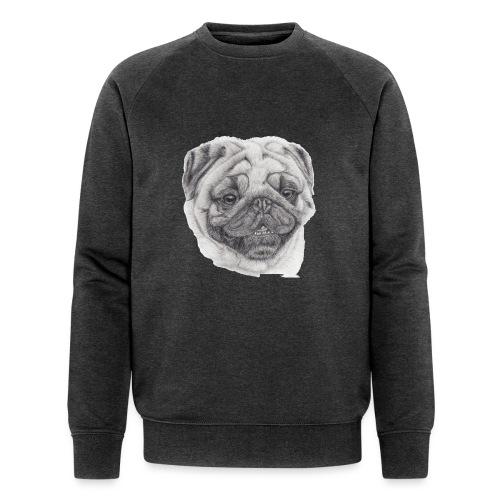 Pug mops 2 - Økologisk Stanley & Stella sweatshirt til herrer
