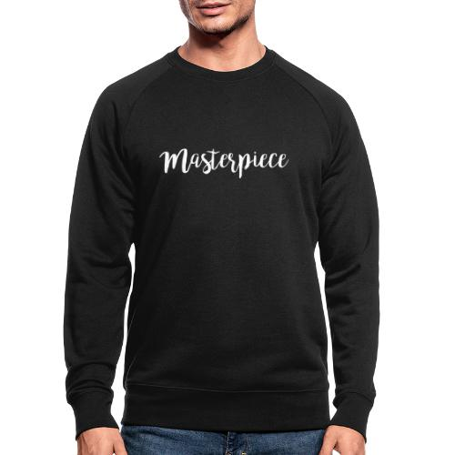 Masterpiece white - Männer Bio-Sweatshirt
