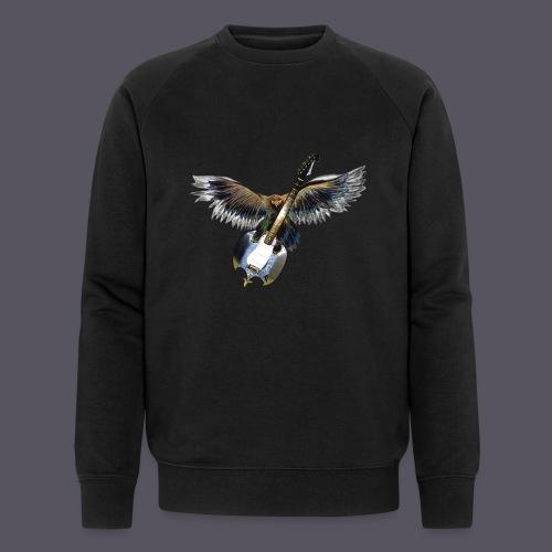 Greifvogel mitGitarrenbeute - Männer Bio-Sweatshirt von Stanley & Stella
