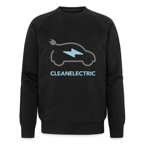 CLEANELECTRIC Logo - Männer Bio-Sweatshirt von Stanley & Stella