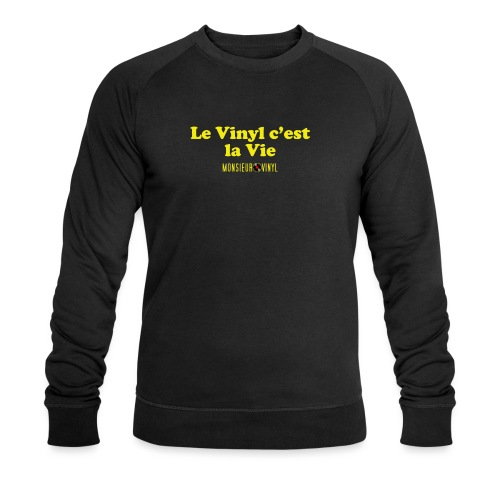 Collection Le Vinyl c'est la Vie - Sweat-shirt bio Stanley & Stella Homme