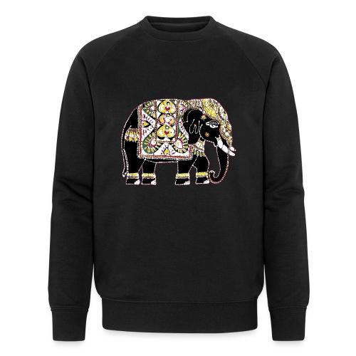 Indian elephant for luck - Men's Organic Sweatshirt by Stanley & Stella