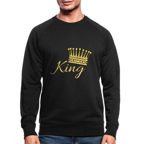 King Or by T-shirt chic et choc - Sweat-shirt bio