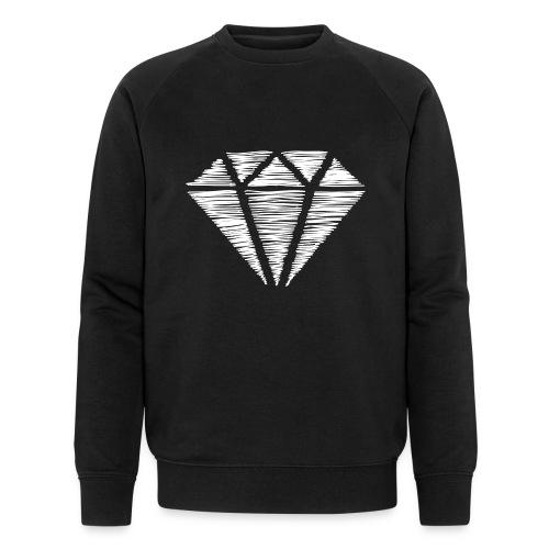 Diamante blanco - Sudadera ecológica hombre