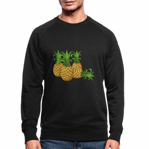 Ananas - Männer Bio-Sweatshirt