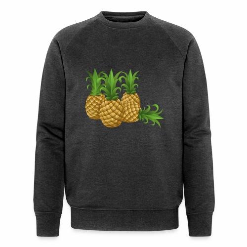 Ananas - Männer Bio-Sweatshirt von Stanley & Stella