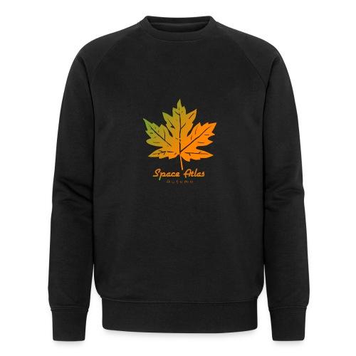 Space Atlas Long Sleeve T-shirt Autumn Leaves - Økologisk Stanley & Stella sweatshirt til herrer