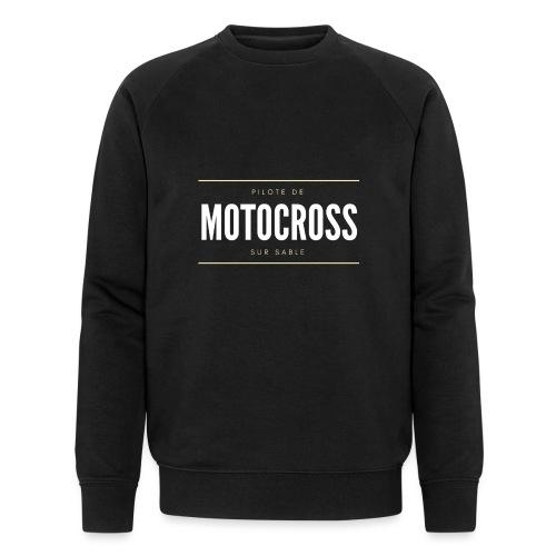 Pilote de Motocross sur sable - Sweat-shirt bio